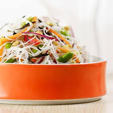 rice noodle u0026 edamame salad recipe eatingwell