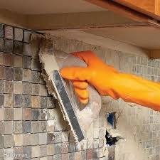 Tiling A Kitchen Backsplash Do It Yourself Tiling Bathroom Tile Kitchen Tile Tile Installation The