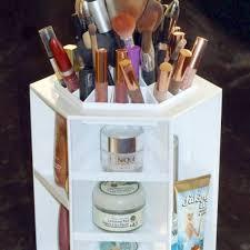 Hair And Makeup Organizer Rotating Makeup Organizer U2022 Hair U0026 Beauty Products Cabelos Co