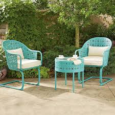 Lime Green Bistro Table And Chairs Endearing Lime Green Bistro Table And Chairs With Colorful Patio