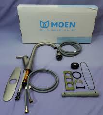 moen harlon kitchen faucet upc 026508221280 moen 87499srs spot resist stainless harlon
