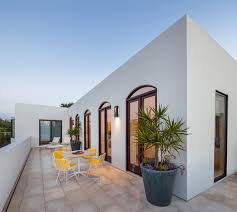 The Terrace Mediterranean Kitchen - lovely mediterranean terrace designs that are perfect for the summer