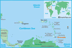 grenada location on world map hamilton houses two bays grenada