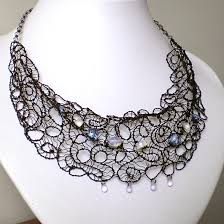 wire lace black wire lace by blackcurrantjewelry on deviantart