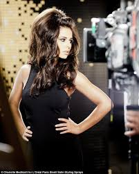 is big hair coming back in style the big hair is back cheryl cole shows off her new larger than