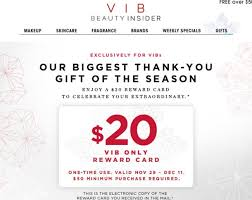 is sephora having a sale on black friday sephora vib reward cards 20 off 50 u2013 musings of a muse