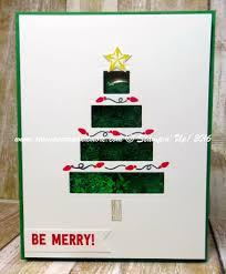 shake u0026 celebrate christmas card stampin u0027 up 2016 holiday