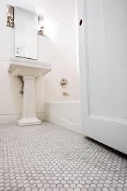 Grout Bathroom Floor Tile - marble hexagon floor tiles with light grey grout mondial tles com