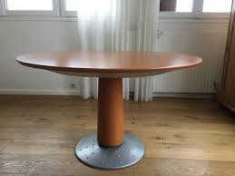 Table Ronde Extensible Blanche by Table Laque Blanche Ronde Cinna
