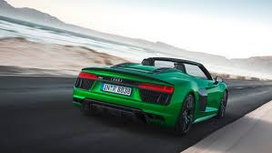 audi v10 convertible audi drops the cloth on its fastest convertible