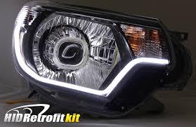 toyota tacoma hid fog lights 2012 2015 toyota tacoma hid retrofit headlights bi xenon led