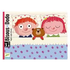 jeux de bisou au bureau jeu de cartes bisous dodo djeco pour enfant de 3 ans à 6 ans