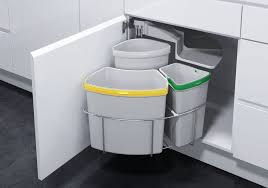 built in trash can cabinet pull out garbage can under sink lovely built in trash cans cabinet