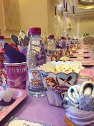 sofia the party supplies princess sofia birthday party ideas photo 4 of 36 catch my party