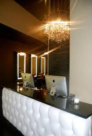 tufted salon reception desk welcome to g michael salon now located in noblesville indiana our