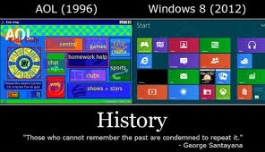 Windows Vs Mac Meme - windows 8 vs aol meme by mactheplaneh on deviantart