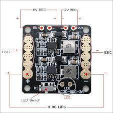 rc fpv carbon fiber mini qav250 quadcopter motor emax mt2204 12a
