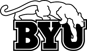byu cougars colouring pages