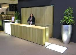 Small Reception Desk Ideas Reception Desk Ideas Geometric Shapes Reception Desk Ideas For