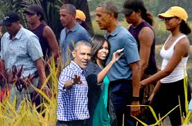 Obama Necker Island Obamas Enjoy Luxury Vacation Bali