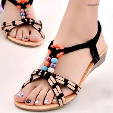 buy sandals flat ladies and get free shipping on aliexpress com