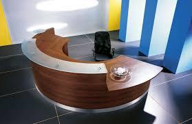curved desks home decor