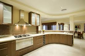 kitchen room design espresso cherry paint wood l shaped