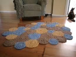 Crochet A Rag Rug Circles Crocheted Rag Rug Frugal Kiwi