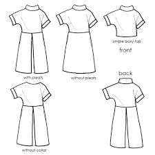 fulwood pull on shift dress sewing pattern u2013 miy collection