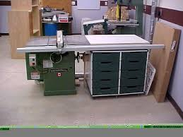 Table Saw Cabinet Plans Custom Made Table Saw Side Storage Cabinet By The Plane Edge Llc