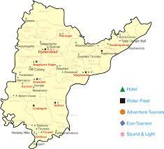 Hyderabad Map Andhra Pradesh Tourist Map Andhra Pradeshindia U2022 Mappery