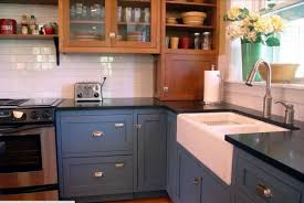 Two Tone Kitchen Walls Kitchen Remodel On A Budget Part 2