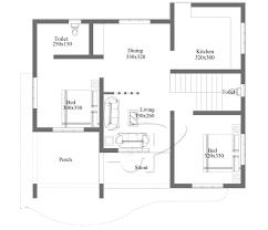 two bedroom floor plans simple 2 bedroom floor plan with roof deck eplans