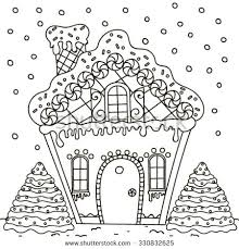 printable gingerbread house colouring page gingerbread house coloring page coloring page gingerbread house
