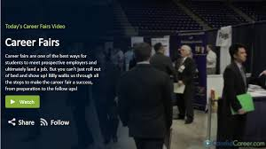 How To Prepare A Resume For A Job Fair by Career Events Career Services