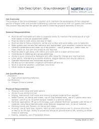 Landscaper Resume Resume For Maintenance Worker Free Resume Example And Writing