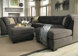 Gray Leather Sectional Sofa Sofa Entertain The Flyer Charcoal Sectional Sofa Unbelievable