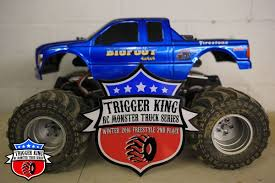 bigfoot monster truck driver 40th anniversary bigfoot u2013 pro modified trigger king rc u2013 radio