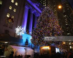 new york stock exchange 92nd annual christmas tree lighting photos