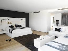 black and white modern bedroom ideas frsante awesome wood glass
