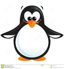 oranges clipart black and white happy cute cartoon smiling black white penguin with orange beak