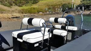 Bespoke Upholstery Superyacht Tenders Sealegs Recreational