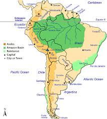 south america map rainforest map of south america continent israa mi raj net
