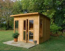 Summer House Garden - natural small wooden garden summer house shed can be decoration
