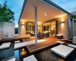 Modern Backyard Houzz - Modern backyard designs