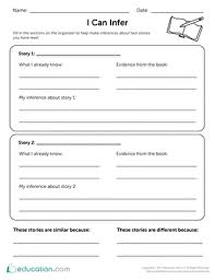 i can infer worksheet education com