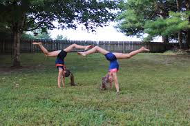 traveling handstands how did you spend national gymnastics day