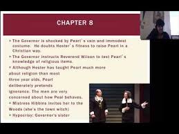 the scarlet letter chapter 1 5 summary the best letter 2017
