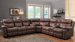 leather sectional reclining sofa centerfieldbar com