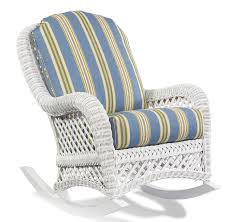 Henry Link Wicker Furniture Replacement Cushions White Wicker Rocking Chair Modern Chairs Design